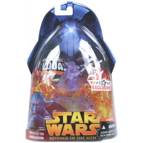 Holographic Yoda Star Wars Revenge of the Sith Exclusive 3.75""