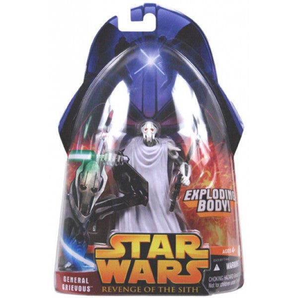 General Grievous Star Wars Revenge of the Sith 3.75""