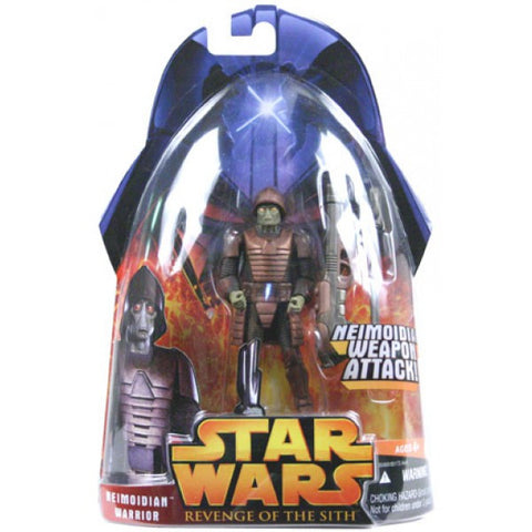 Revenge of the Sith Carded Neimoidian Warrior (Neimoidian Weapon Attack)
