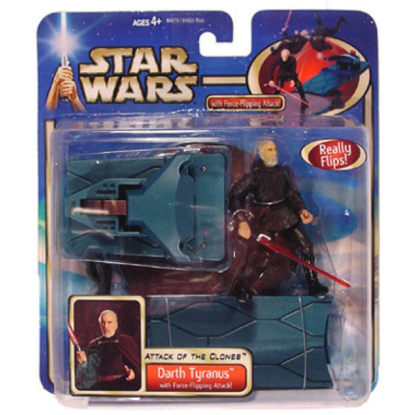 Darth Tyranus Deluxe Star Wars Attack of the Clones 3.75""