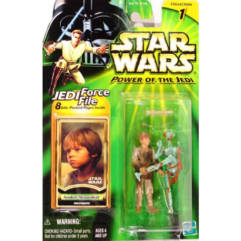 Anakin Skywalker with droid Star Wars Power of the Jedi 3.75""