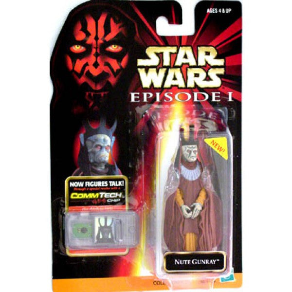 Nute Gunray Commtech Episode 1 NEW 3.75""