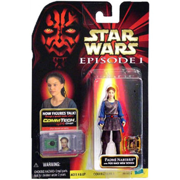 Padme Naberrie with Pod Race View Screen 3.75""