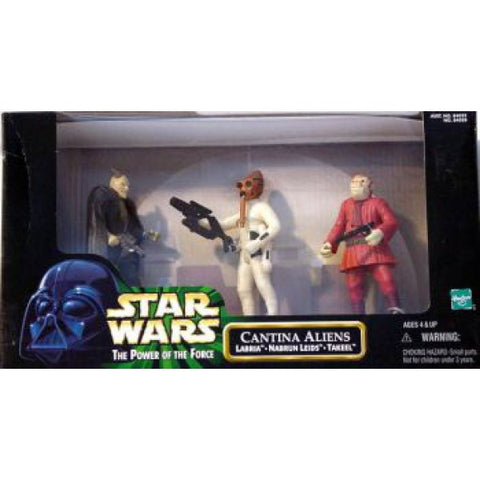 Star Wars POTF2 Cantina Aliens 3.75""
