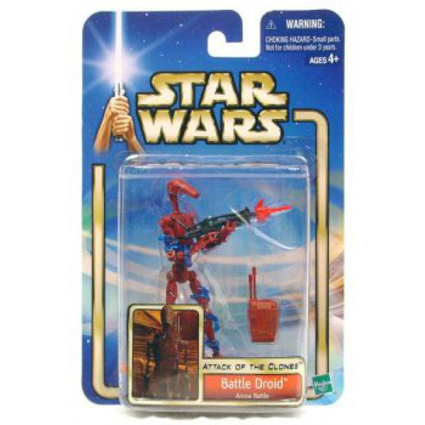Battle Droid Arena Battle Red Attack of the Clones