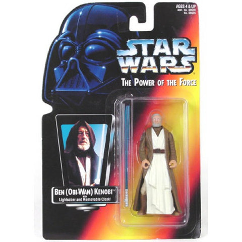 Ben (Obi-Wan) Kenobi Red Card Short Saber POTF2 3.75""