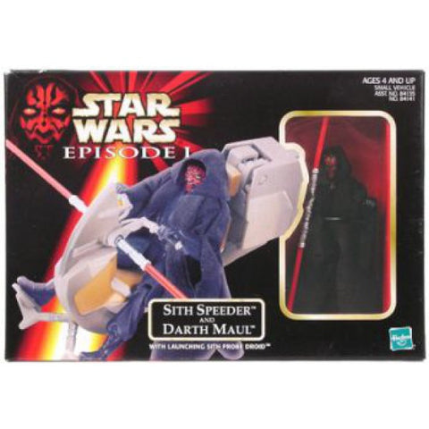 Sith Speeder & Darth Maul Episode 1