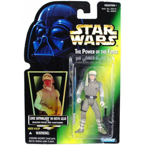 Luke Skywalker in Hoth Gear POTF2 NEW 3.75""