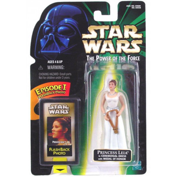 Princess Leia Ceremonial Dress POTF2 NEW 3.75""