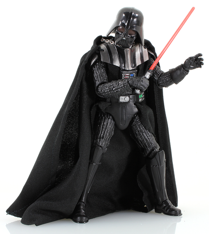 "#02 Darth Vader Star Wars Black Series 6"" Loose (removable helmet)"