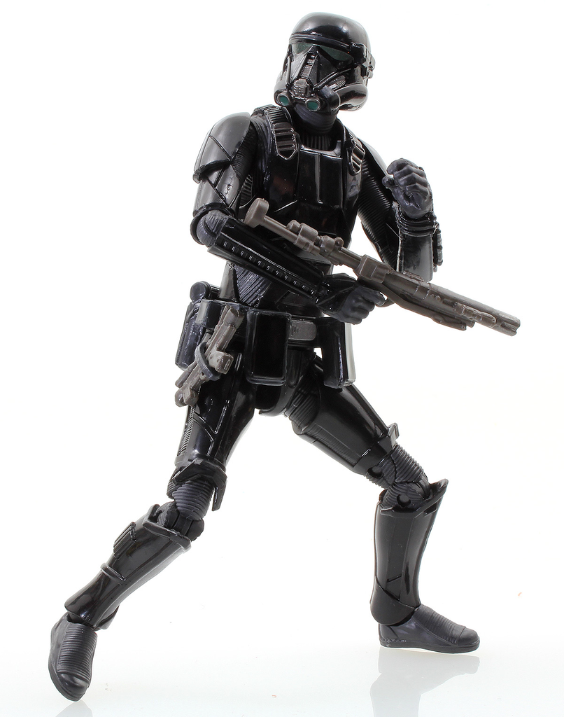 "#25 Imperial Death Trooper Star Wars Black Series 6"" Loose"