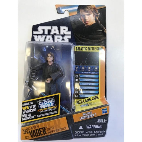 "SL11 Darth Vader Sith Apprentice Saga Legends 3.75"" (bubble separated)"