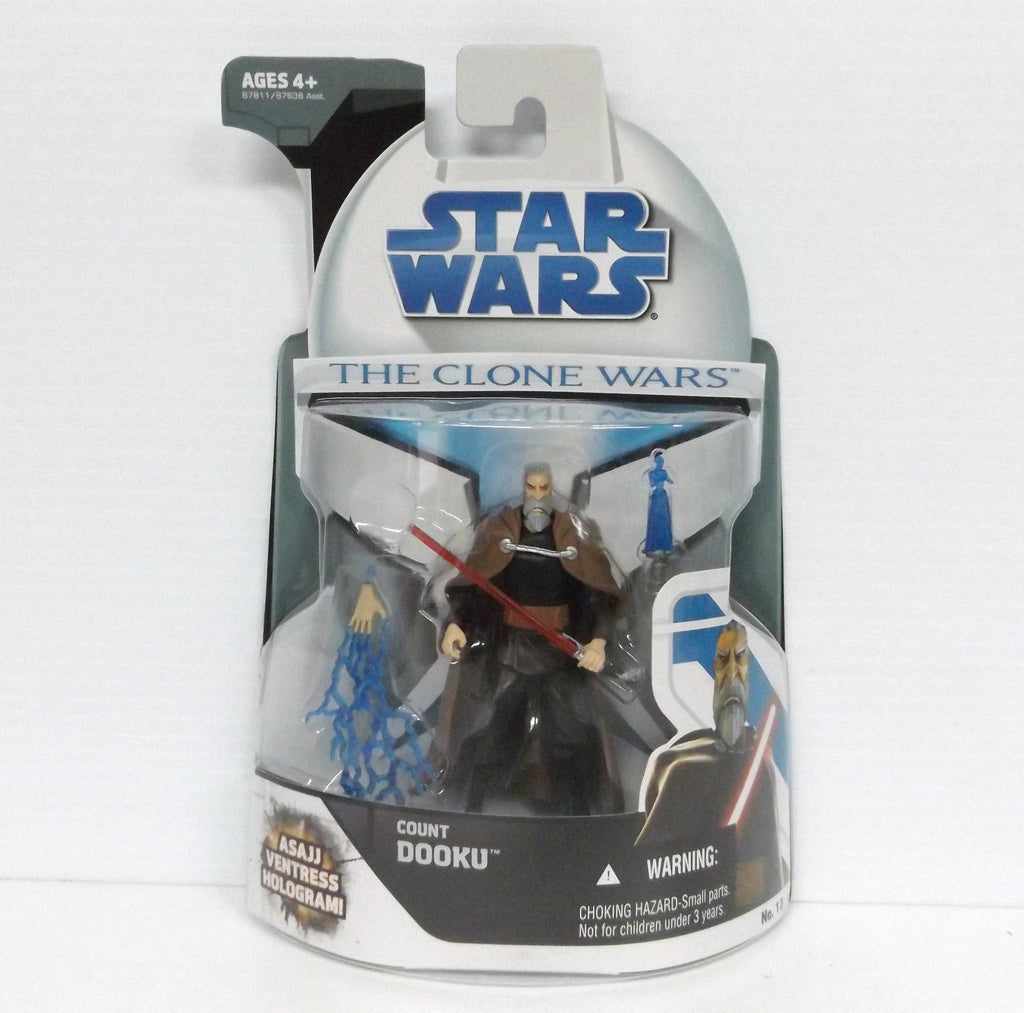 Count Dooku The Clone Wars 3.75""