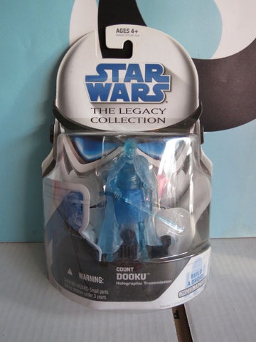 Count Dooku Holographic Transmission The Legacy Collection (5D6-RA7) 3.75""