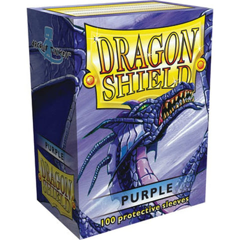 Dragon Shield - 100ct Standard Size - Purple