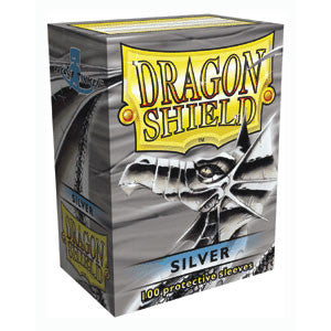 Dragon Shield - 100ct Standard Size - Silver