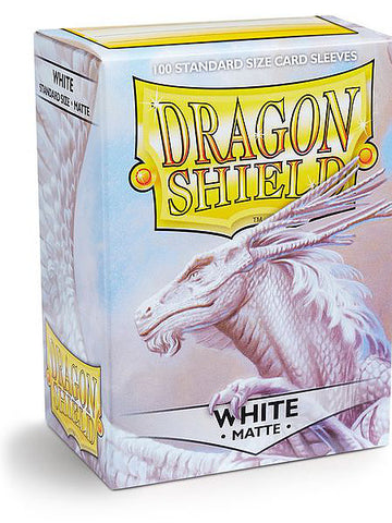 Dragon Shield - 100ct Standard Size - White
