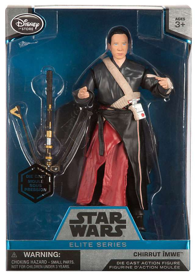 Chirrut Imwe Elite Series Die Cast Action Figure - 6 1/2''