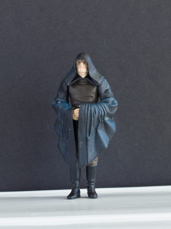 "Darth Sidious Emperor Palpatine 1999 3.75"" LOOSE (INCOMPLETE) (VG)"