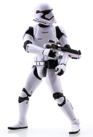"#04 First Order Stormtrooper Black Series 6"" Loose (one gun)"