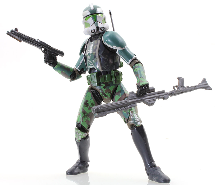 "Clone Commander Gree Black Series 6"" Loose"