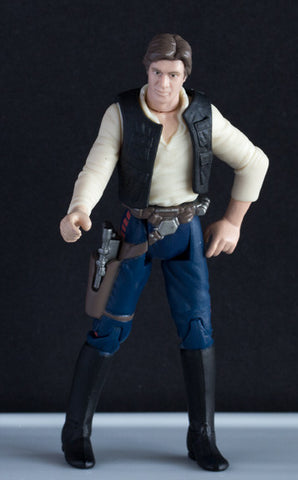 "Han Solo Star Wars POTF2 1999 3.75"" Loose (NM)"