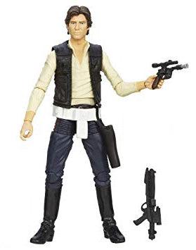 "Han Solo Star Wars Black Series 6"" Loose (incomplete)"