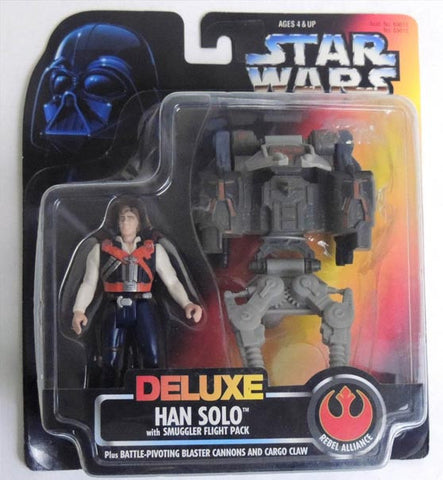 Han Solo Deluxe with Smuggler Flight Pack POTF2