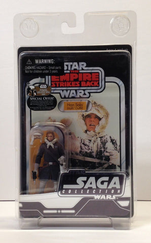 Han Solo Hoth Outfit The Saga Collection 3.75""
