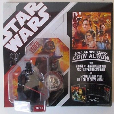 Darth Vader 30th Anniversary with coin and coin book