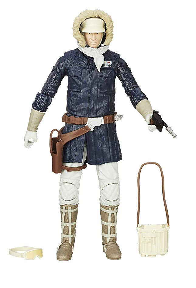 "Hoth Han Solo Black Series 6"" Loose"