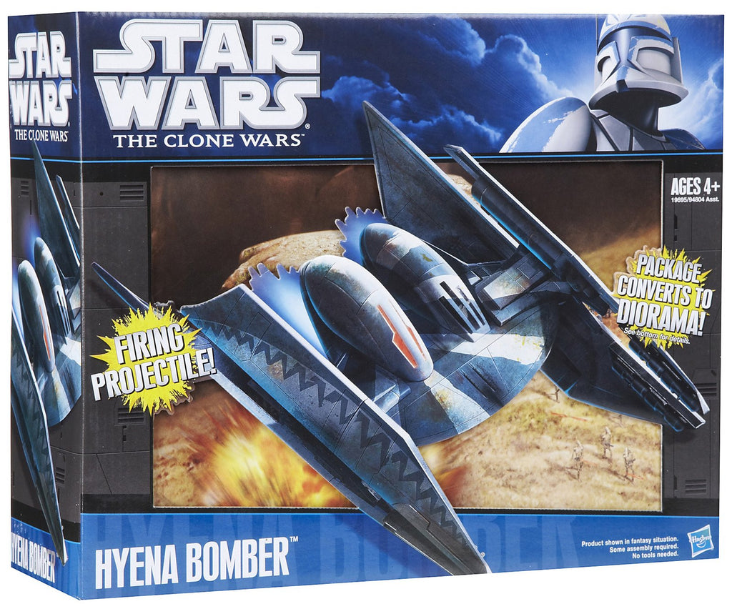 Clone Wars Hyena Bomber Vehicle