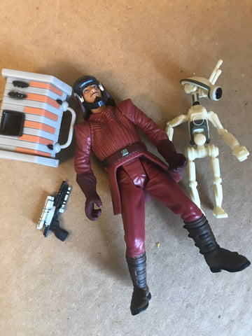 "Naboo Royal Guard with Pit Droid Star Wars 3.75"" Loose"