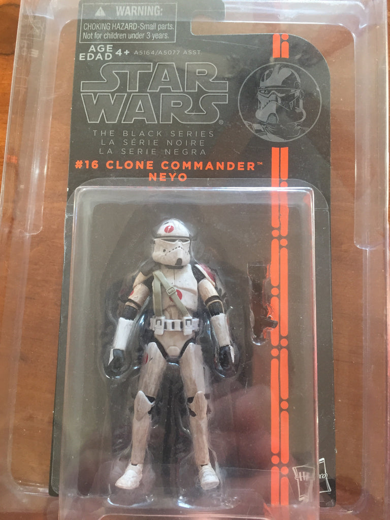 "#16 Clone Commander Neyo Star Wars Black Series 3.75"" (separated bubble)"