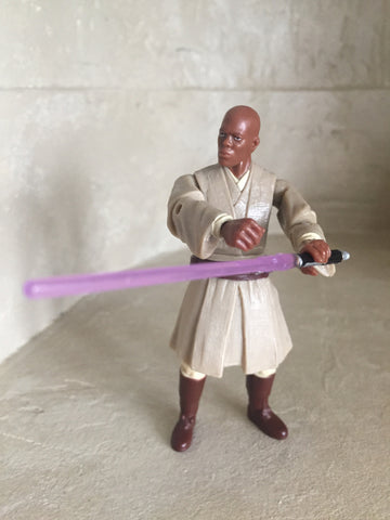 "Star Wars Mace Windu 3.75"" Loose"