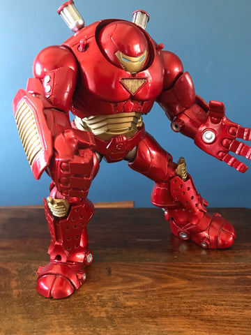 "Marvel Select Hulkbuster 8"" Loose (incomplete)"