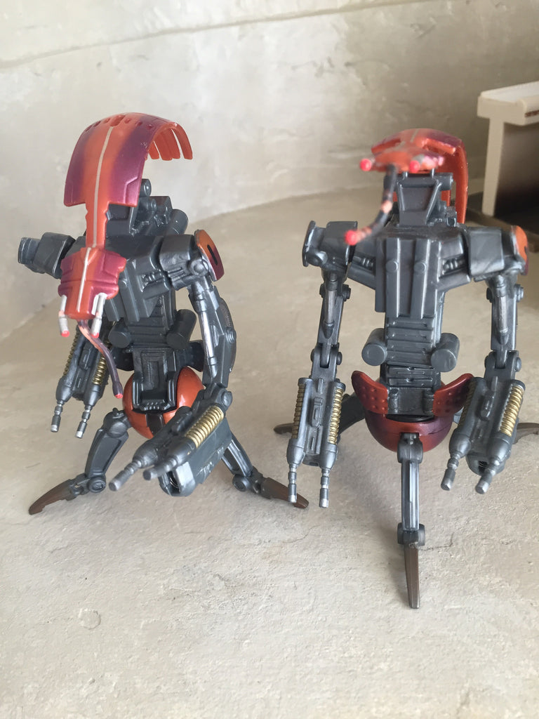 Droideka Destroyer Droid 2-Pack (incomplete)
