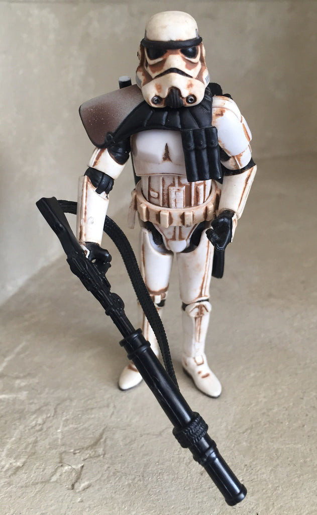 "Sandtrooper Dirty Version Star Wars Revenge of the Sith 3.75"" Loose"
