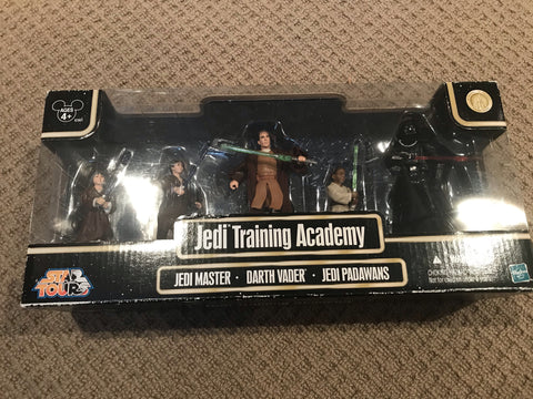 Star Tours Jedi Training Academy Jedi Master Darth Vader Jedi Padawans Star Wars 3.75""