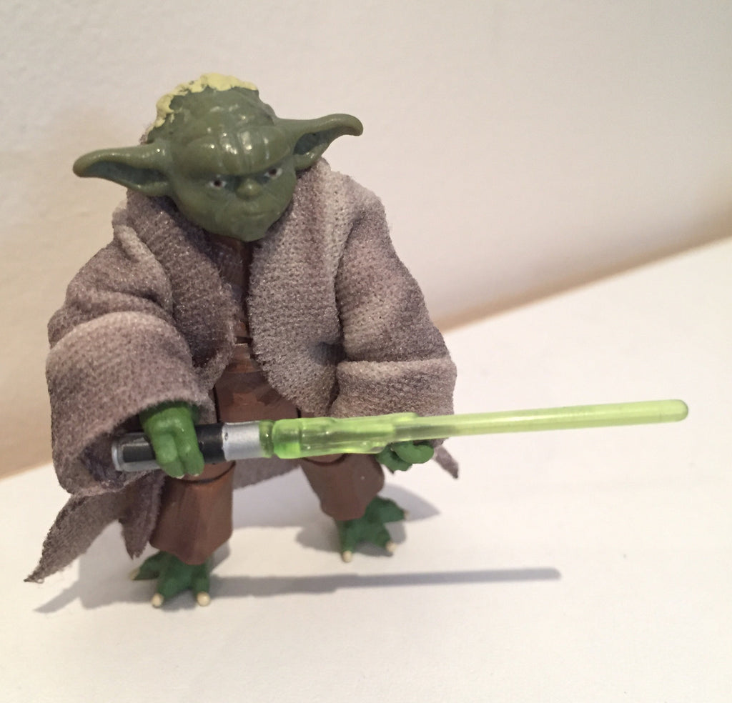 "Yoda Shadows of the Dark Side 3.75"" Loose (incomplete)"