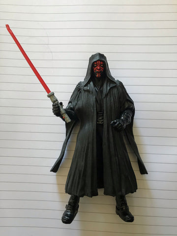"Darth Maul Star Wars Black Series 6"" Loose (INCOMPLETE)"