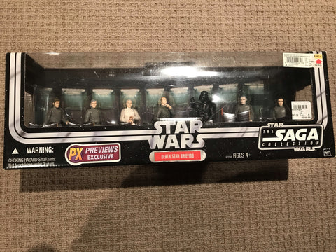 Star Wars SAGA Series Death Star Briefing 3.75""