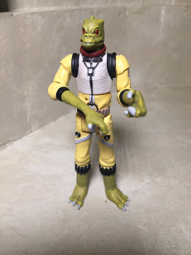 "Bossk Clone Wars Rise of Boba Fett 3.75"" Loose (incomplete)"