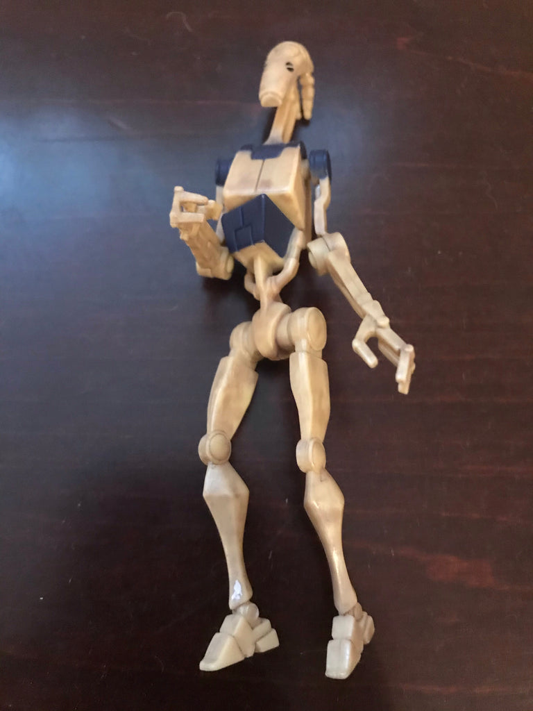 "Battle Droid The Clone Wars Collection 3.75"" Loose (incomplete)"