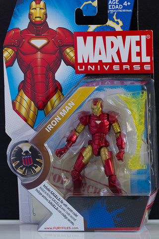 "Marvel Universe Iron Man 3.75"" NEW"
