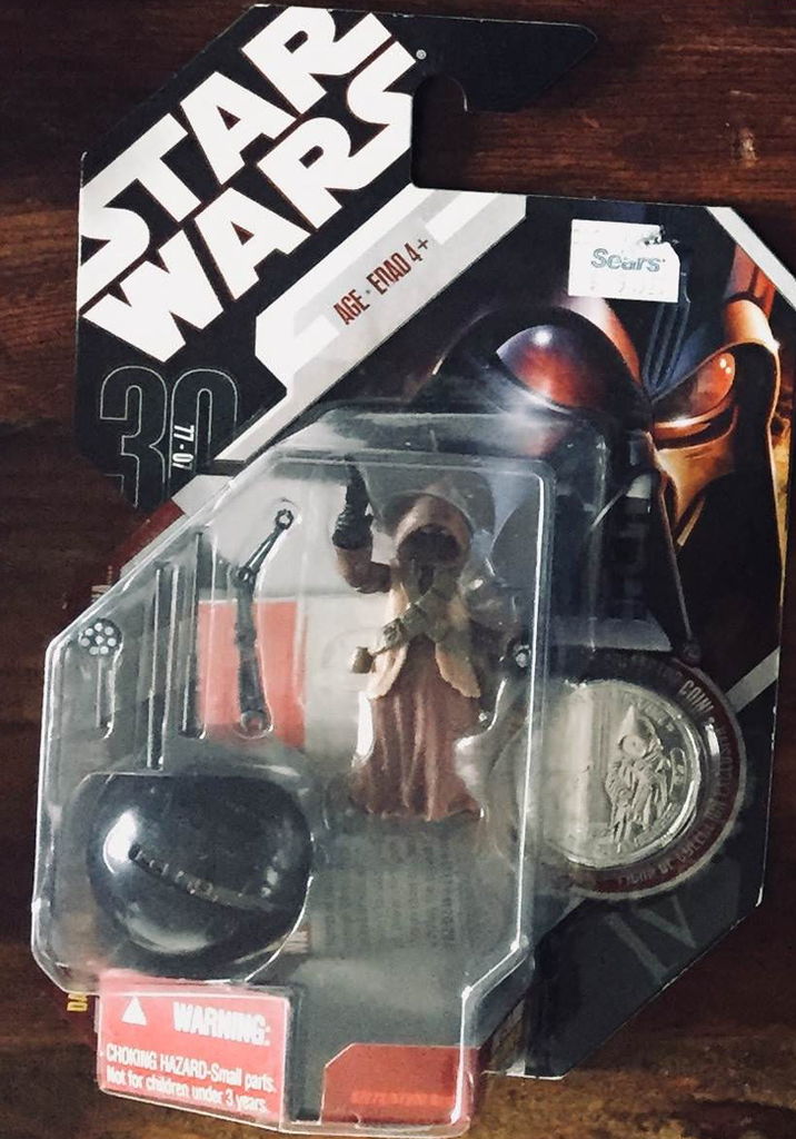 Jawa with Lin Droid Star Wars 30th Anniversary 3.75""