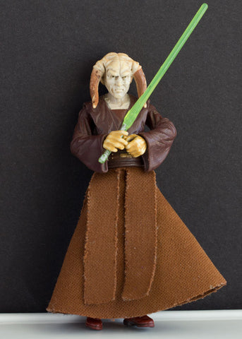 SAESEE TIIN (JEDI MASTER) 30 - STAR WARS REVENGE OF THE SITH COLLECTION, 2005 LOOSE