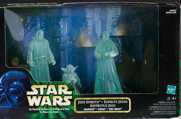 Star Wars: Power of the Force Jedi Spirits (Anakin, Yoda, Obi-Wan) Action Figure Multi-Pack