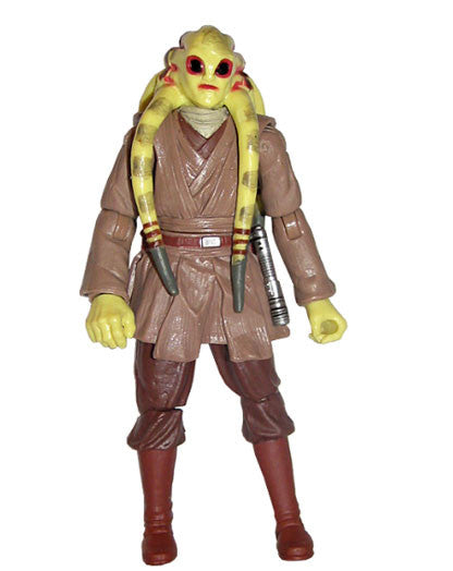 "Kit Fisto Revenge of the Sith 3.75"" Loose (incomplete)"