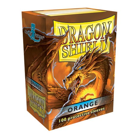 Dragon Shield - 100ct Standard Size - Orange